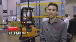 Demonstrating the Driverless Toyota Forklift- Automation Solutions