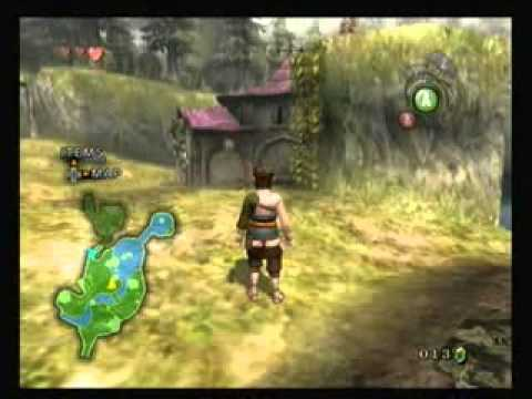 Legend Of Zelda Twilight Princess Walkthrough - Ordon Village: Get The Fishing Pole