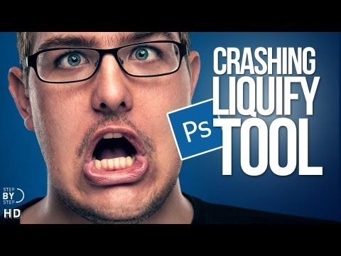 Photoshop Tutorial Crashing Liquify Tool