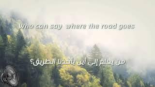 أغنيه الزمن مترجمه -Only Time