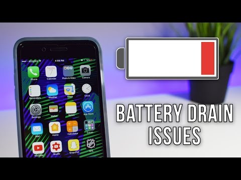 What's Wrong With My iPhone? Battery Drain Issues iOS 10.3