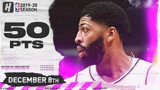 Anthony Davis CRAZY 50 Points Full Highlights   Timberwolves vs Lakers   December 8, 2019