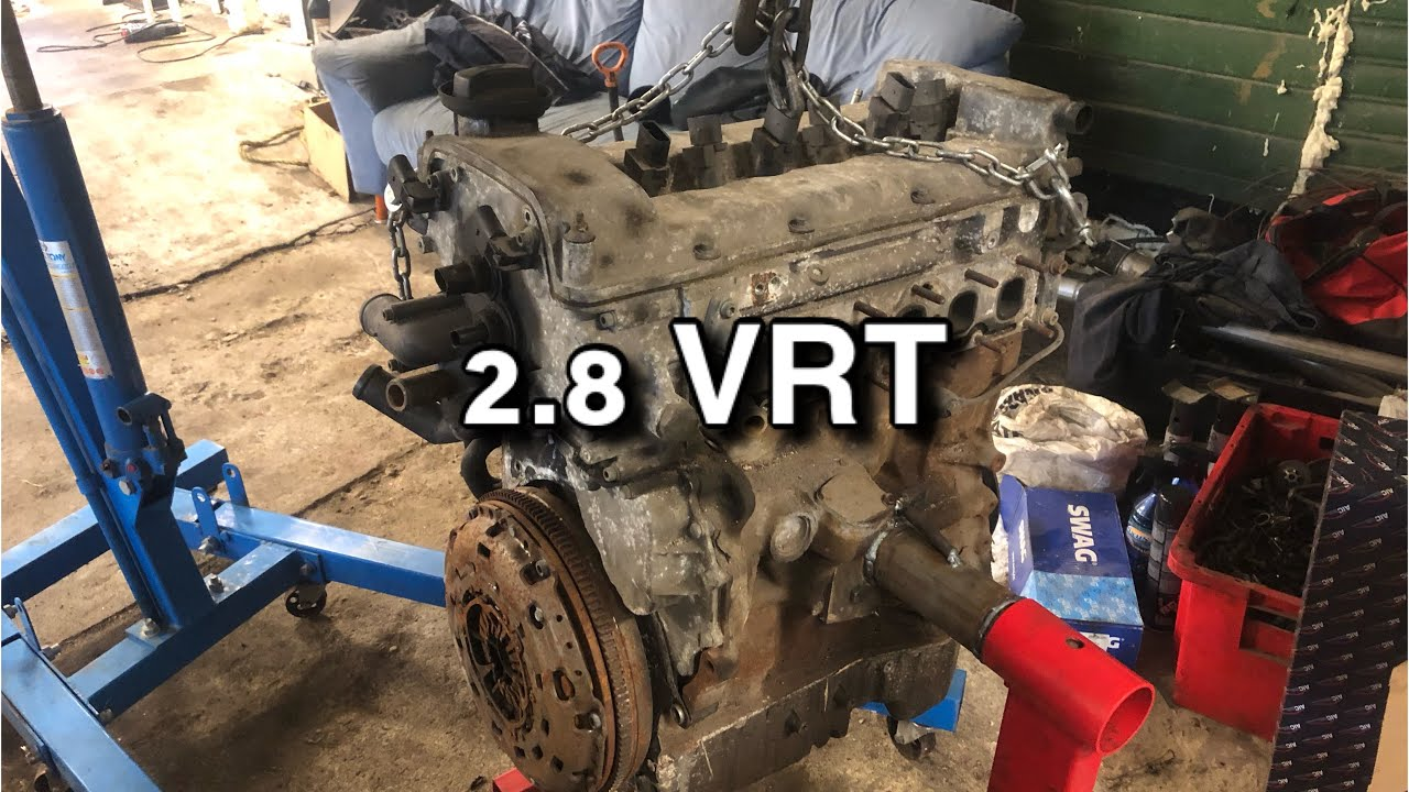 2.8 VR6 (turbo) Projekt - Mootori puki valmistamine - VLOG