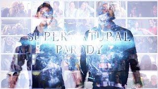 Hillywood Show: Supernatural Parody (MV Reactions Mashup vol. 2)   10K SUBS BONUS