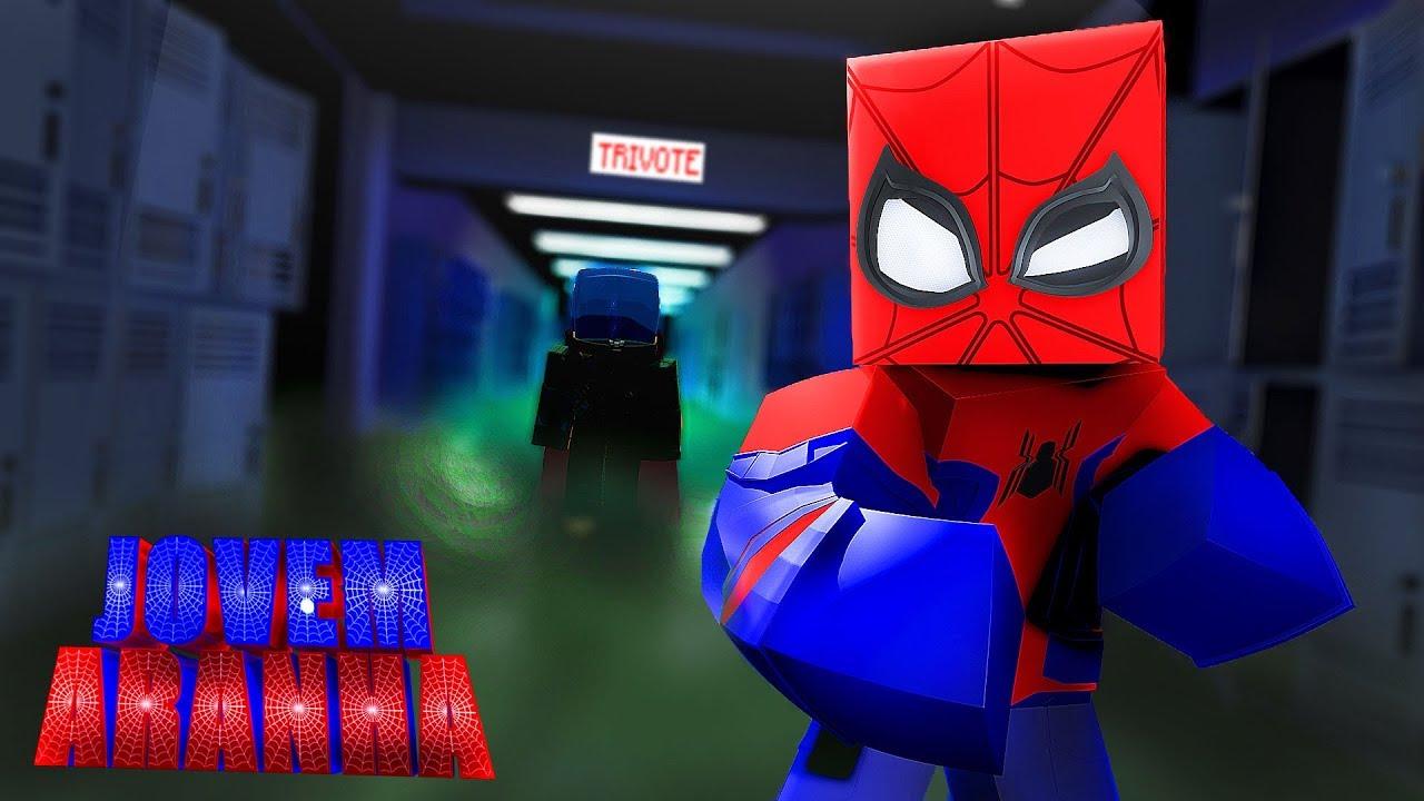 Minecraft: MISTERIO VS HOMEM ARANHA !!! - Jovem Aranha ( Longe de Casa ) #11 ‹ Goten ›