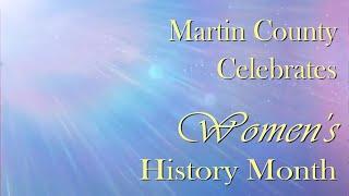 Celebrating Women's History in Martin County, Florida
