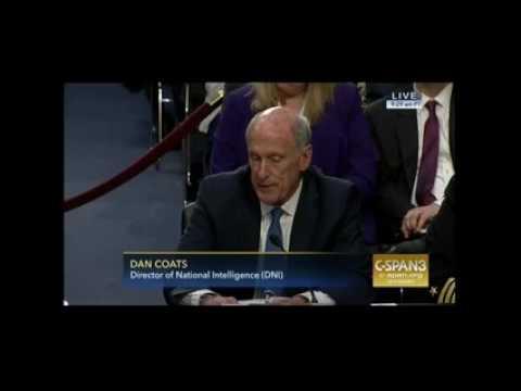 Dan Coats comments on The Washington Post