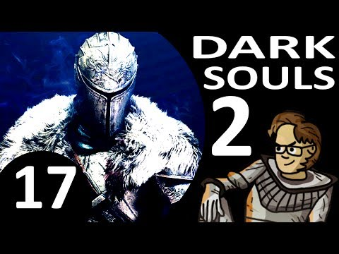 Let's Play Dark Souls 2 Part 17 - The Gutter, Black Gulch, Giant Ant Queen (Cleric, Blind)