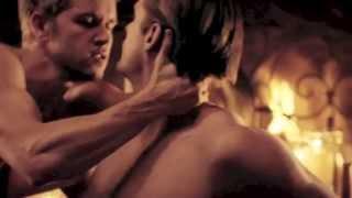 Alexander Skarsgard et Ryan Kwanten : sensualité érotico-gay :)