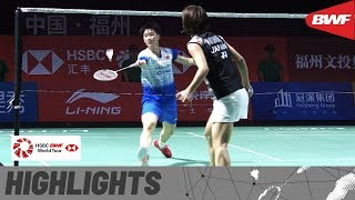 Fuzhou China Open 2019 | Finals WS Highlights | BWF 2019