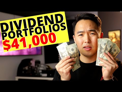 My $41,000 Dividend Stock Accounts! Dividend Investing 2020