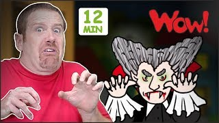 Halloween Songs + MORE Stories for Children   Halloween from Steve and Maggie Wow   English TV
