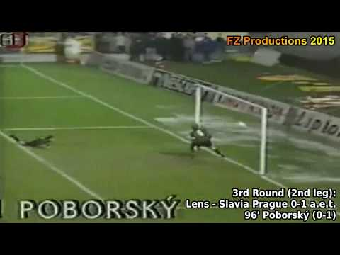 1995-1996 Uefa Cup: SK Slavia Prague All Goals