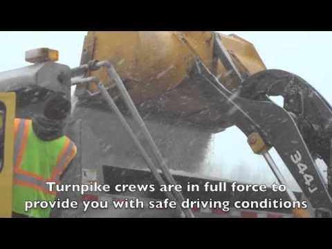 Ohio Turnpike Crews Battling Winter Weather