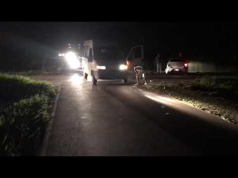 SAJ: Mais um acidente é registrado no trevo da Praia do Dendê; VEJA O VÍDEO