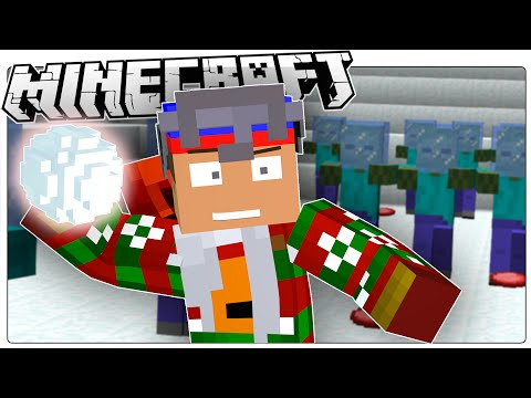 Minecraft | Snowball FIGHT!