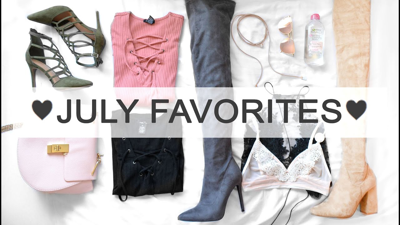 JULY FAVORITES // Clothes, shoes, accesories // Best finds from Aliexpress  - YouTube