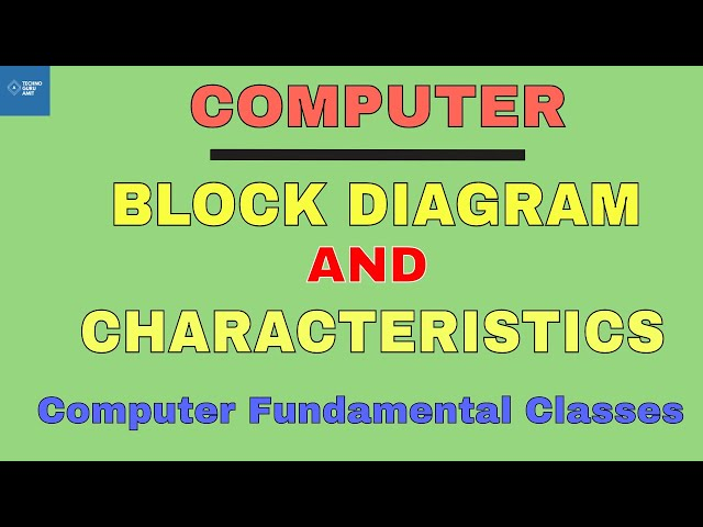 Computer Block Diagram and characteristics | Computer Fundamental (2018)