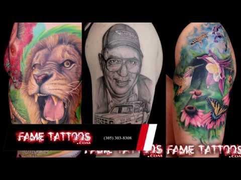 Best Tattoo Shop in Miami, Florida Fame Tattoos