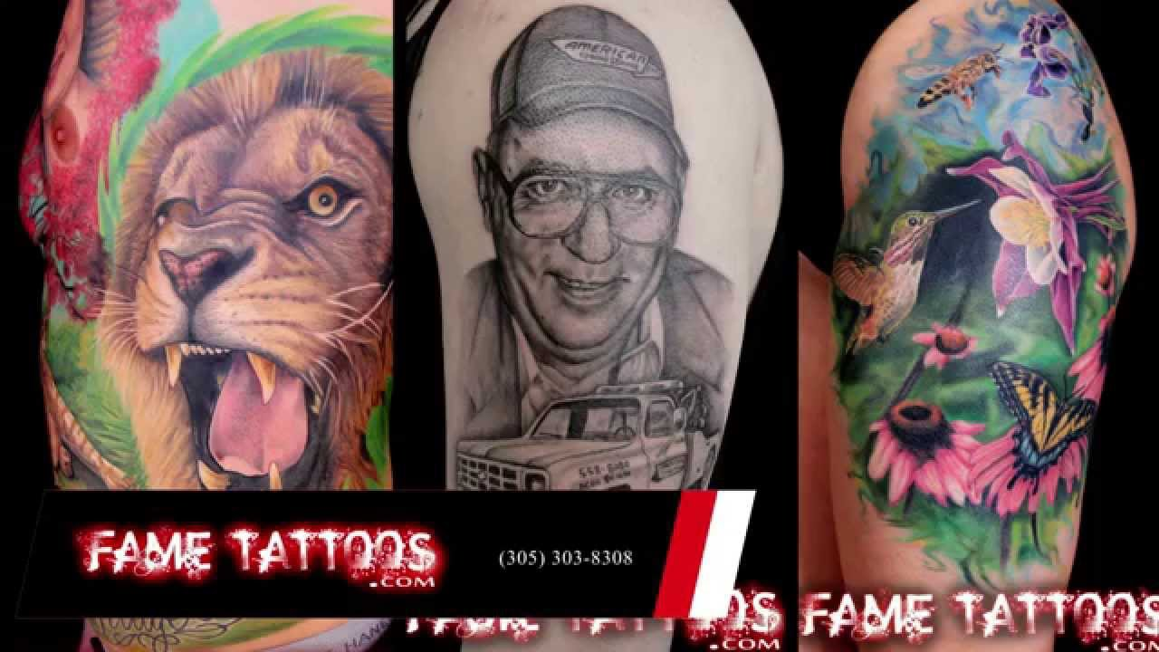 Top Tattoo Artists in Miami, Florida | Natural Tattoo Removal in ...