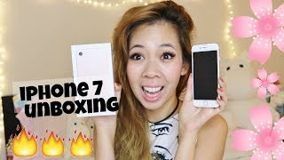 APPLE IPHONE 7 UNBOXING - ROSE GOLD 256gb // REVIEW & COMPARISON