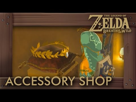 Zelda Breath of the Wild - How to Unlock Accessory Shop