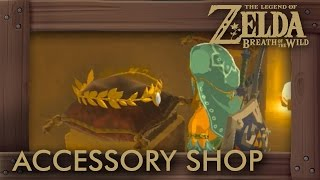 Zelda Breath of the Wild - How to Unlock Accessory Shop