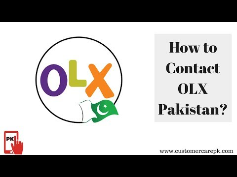 Olx com pk Customer Care Phone Number, Email Id, Office Address