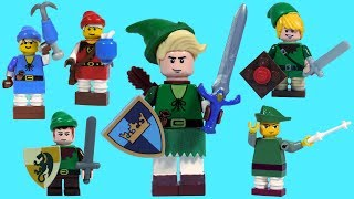 How To Build LEGO Link (from Legend of Zelda)