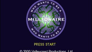 Who Wants to be a Millionaire - 2nd Edition (PS1) - Longplay