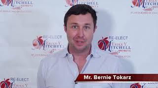 Re-Elect Erika Y. Mitchell for Atlanta School Board District 5, Supporter Mr. Bernie Tokarz.