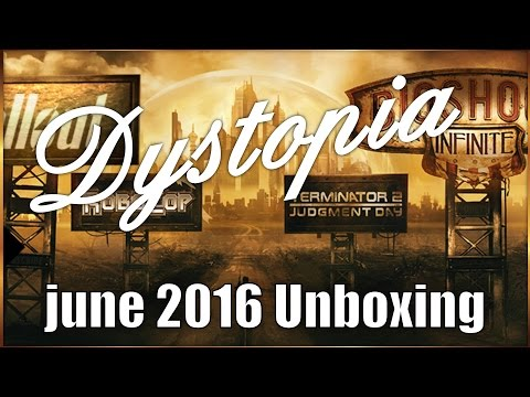 LootCrate June 2016 Unboxing