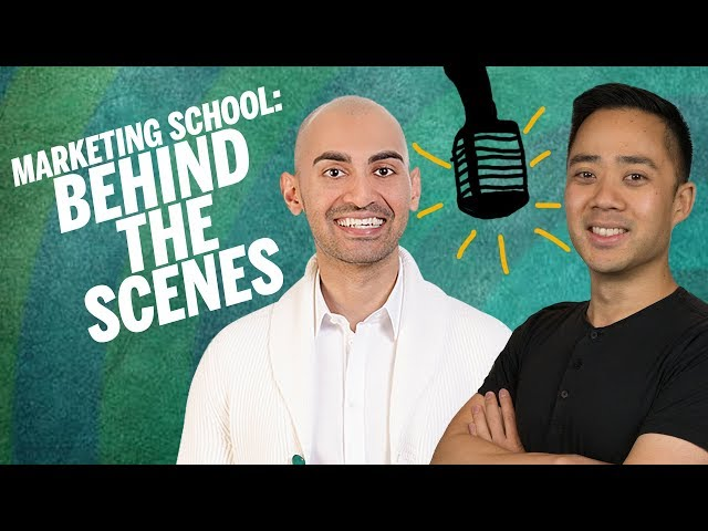 Marketing School LIVE in Studio with Neil Patel and Eric Siu