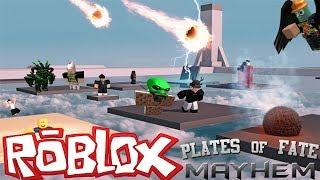 The FGN Crew Plays: ROBLOX - Plates of Fate MAYHEM