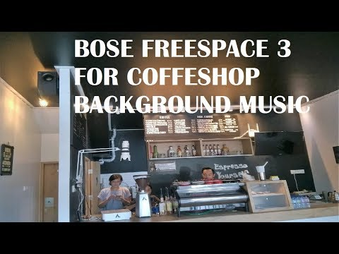 Instalasi Bose Freespace 3 For Coffee Shop Backgroud Music