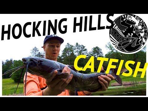 HOCKING HILLS 2017, Ohio Camp and Fish Trip
