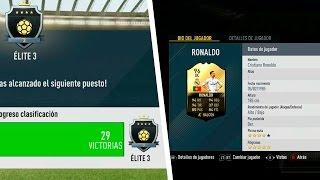 ELITE EN FUT CHAMPIONS!!!  ADIÓS PELÉ, HOLA RONALDO | FIFA 17