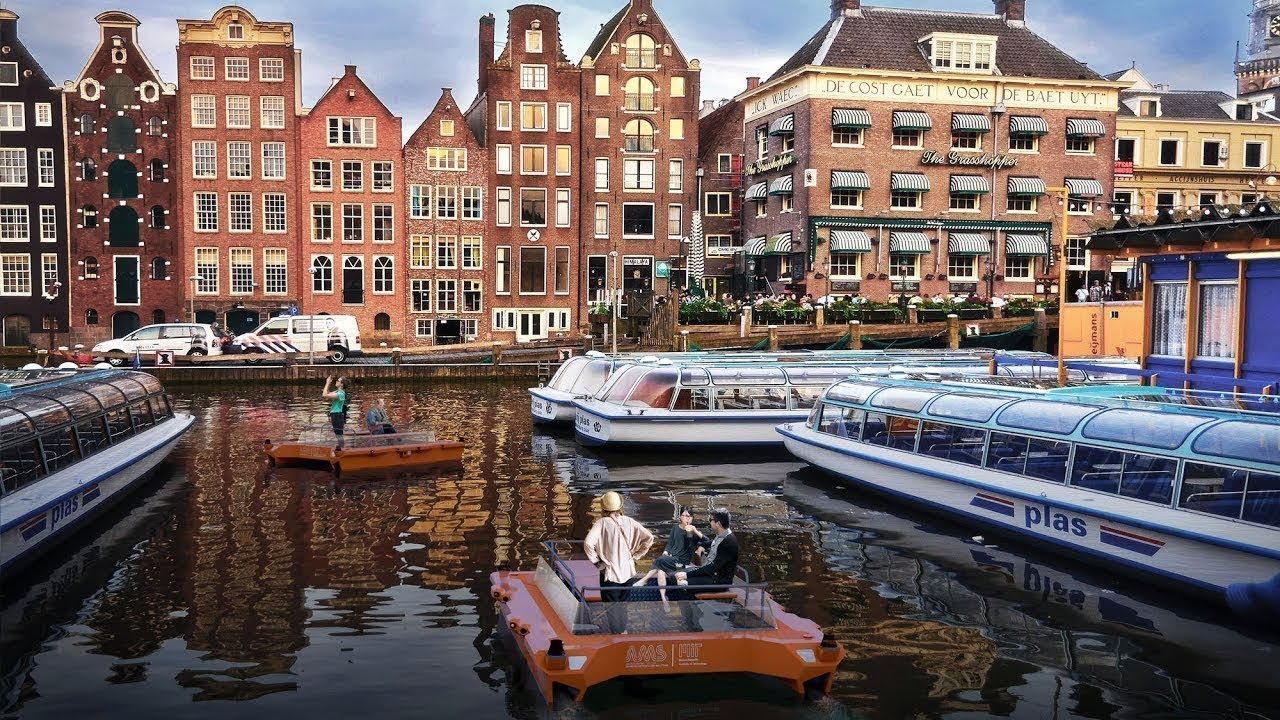Amsterdam Hosts Pioneering Research on Robot Boats