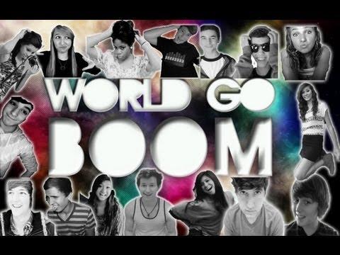 WORLD GO BOOM - DJ Earworm Mashup United State of Pop