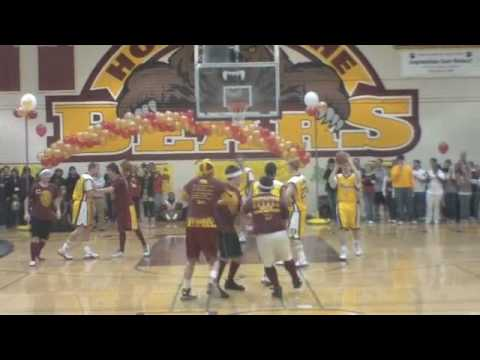 08-09 Menlo-Atherton Sixth Man Club vs Varsity Basketball Seniors