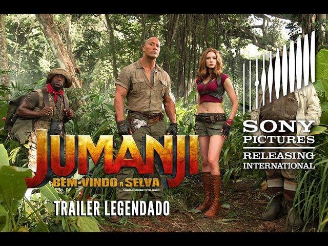 Jumanji: Bem-vindo à Selva | Trailer 1 (Legendado)