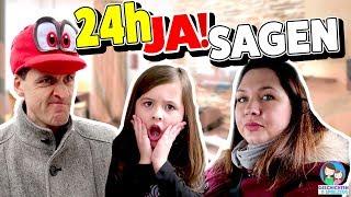 24h JA SAGEN Challenge! Herausforderung der SPIELZEUGTESTER - Geschichten und Spielzeug