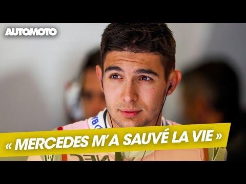 """Rendez-vous F1 - Esteban Ocon : """"Mercedes m'a sauvé la vie"""""""