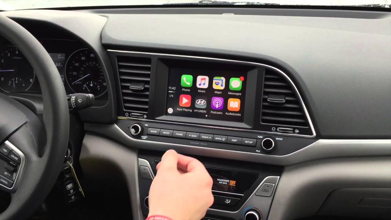 2017 Kia Optima >> How to use Apple CarPlay 2017 Hyundai Elantra - YouTube