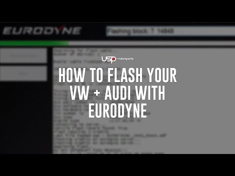 How To Flash Your VW + Audi With Eurodyne  // USP Motorsports