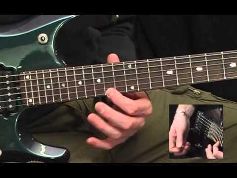 Metallica Enter Sandman solo lead guitar tutorial