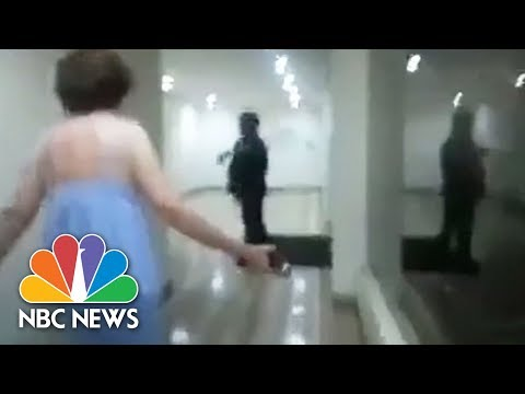 Screams And Shouts As Venezuelan Opposition Leader Seized At Home | NBC News