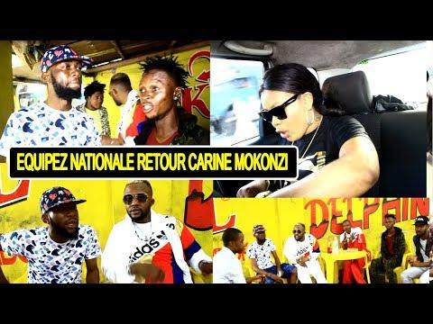 Équipe National Bayindisi Retour Ya Carine Mokonzi A Kinshasa  Abbiri Et Janvier Ba Pupoli Grave