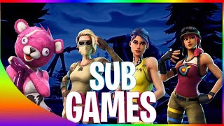 GIFT ME SKIN IM POOR Fortnite SUBGAMES / !epic / !1v1 LOOTLAKE EVENT HAPPENING TODAY 9PM GMT