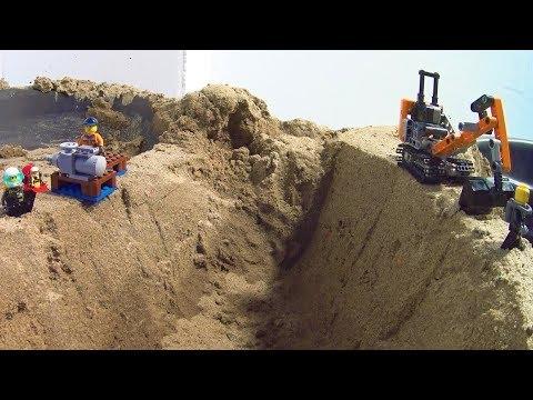 Dam Breach - LEGO Construction Site